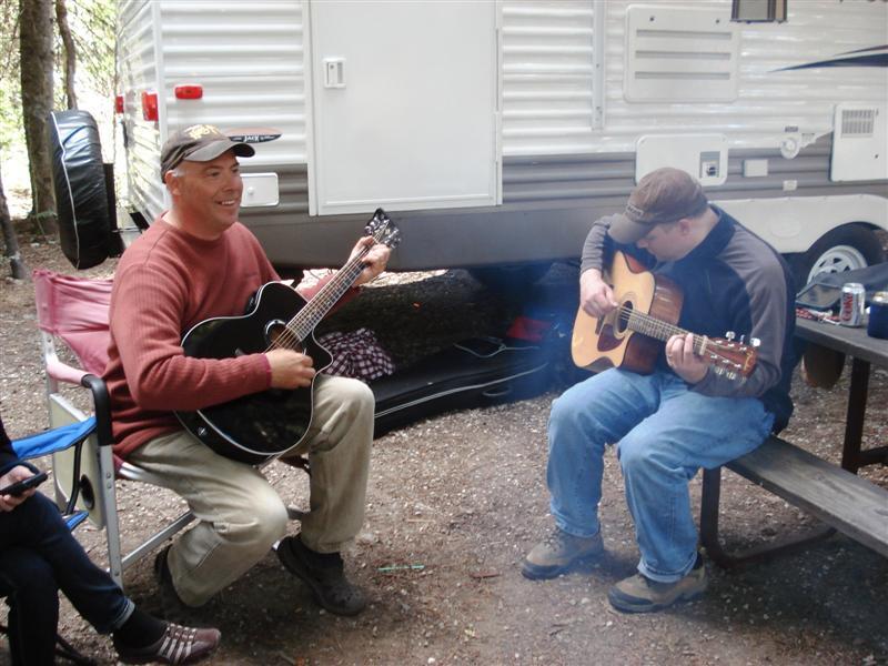 Scott and Bill jammin'