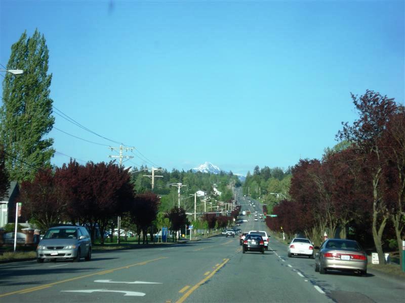 Heading West out of Marysville Washington