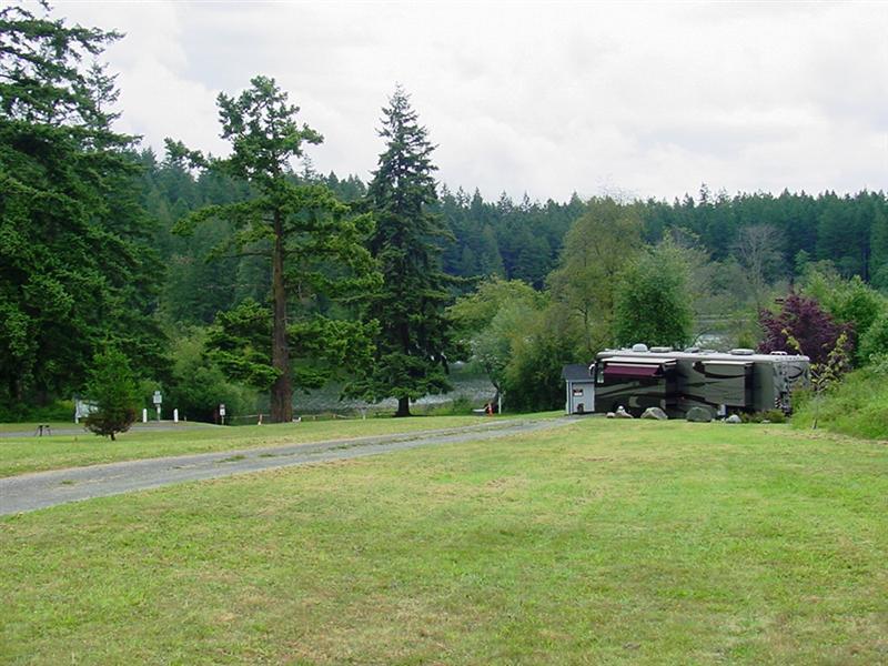 Volunteer Camp Host Site at Andersen Lake