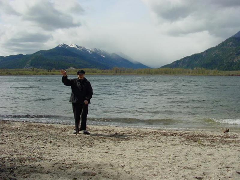 Fish Lake in Cascade Mts, WA