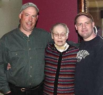 Scott and Billy with Grandma Betty