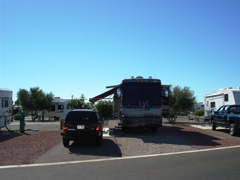 Beaudry RV Park Tucson Arizona
