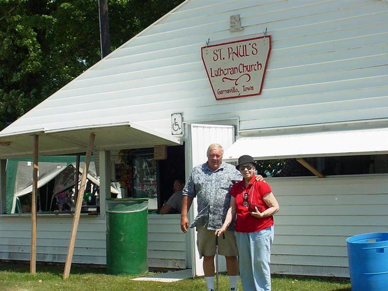 The Church Fair Food Booth
