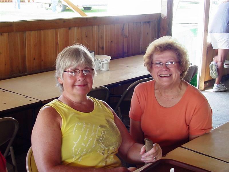 Kathleen and Kathy Helle