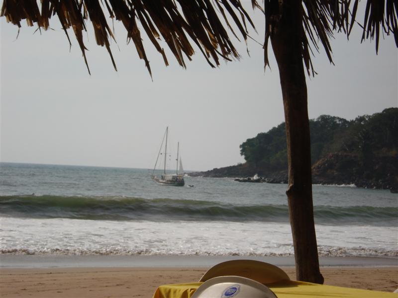 At Anchor Chacala Bay
