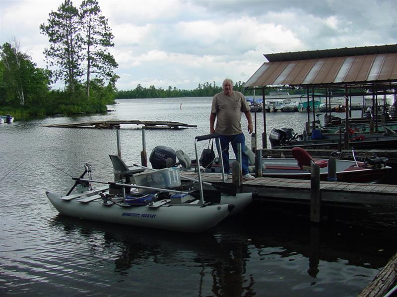 two weeks of good fishing--I Hope!