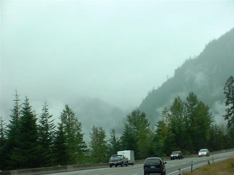 Approach to Stevens Pass
