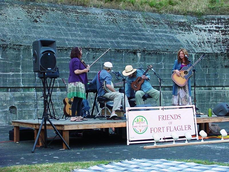 """Deadwood Revival"" at Fort Flagler Music Night"