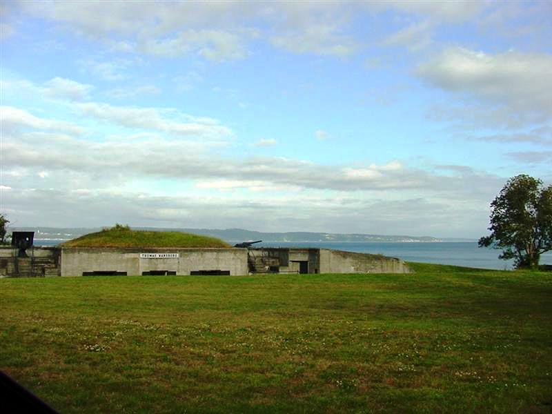 Fort Flagler Gun Placement Bunkers