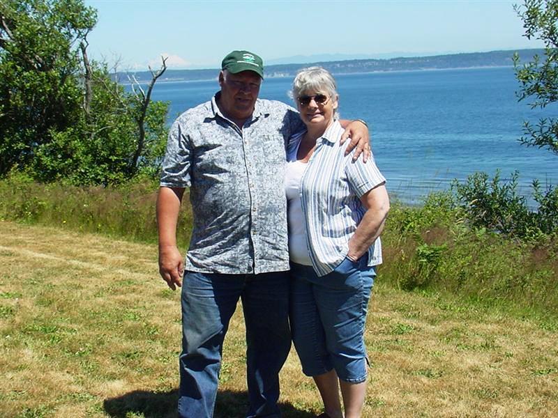 Kathleen and I at Fort Flagler