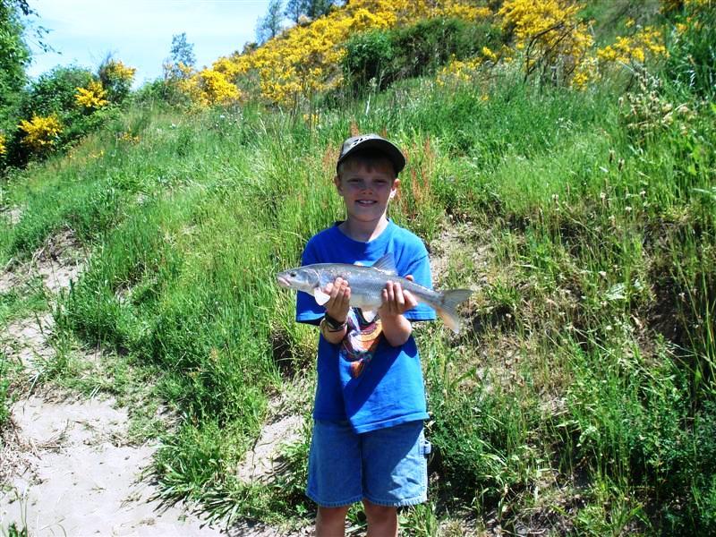 Zak and Squaw Fish