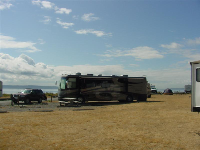 Fort Casey RV Site