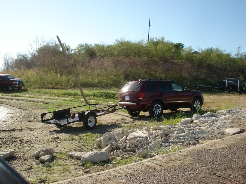 How I trailer my little Boat