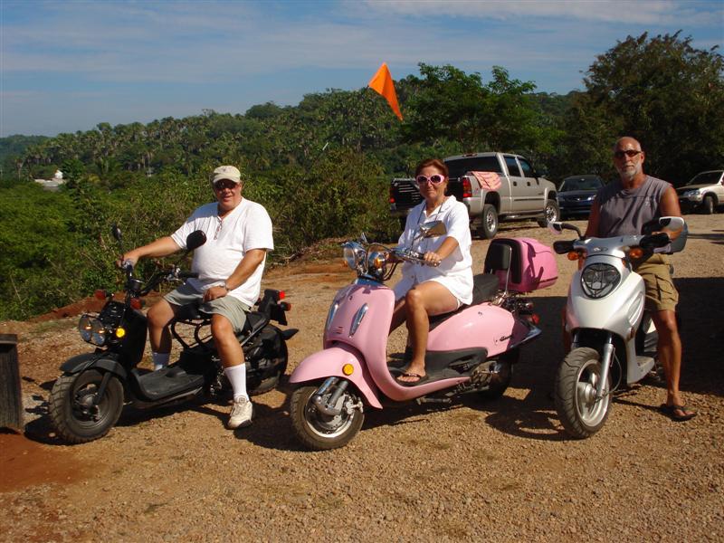 La Penita RV Park Hells Angels--George, Debbie, & Ken
