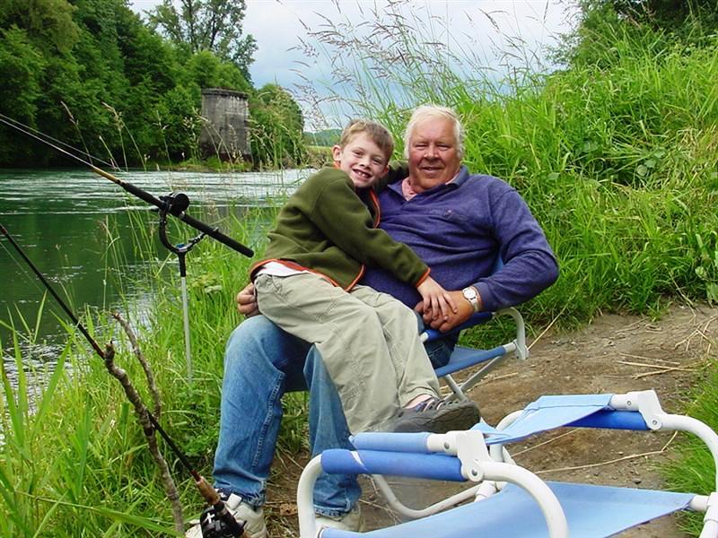 Mason and Grandpa