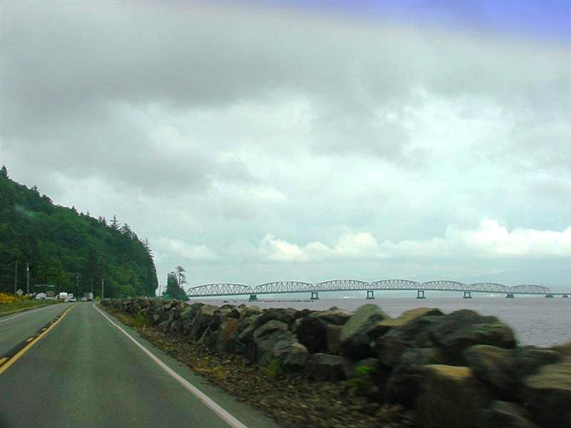 Bridge Across the Columbia River to Astoria