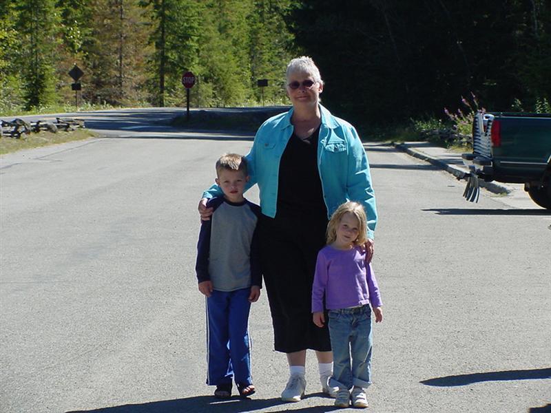 Mason, Maddie, Grandma