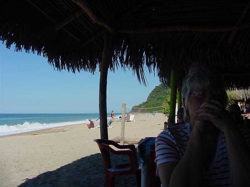Beach Restuarant Scene