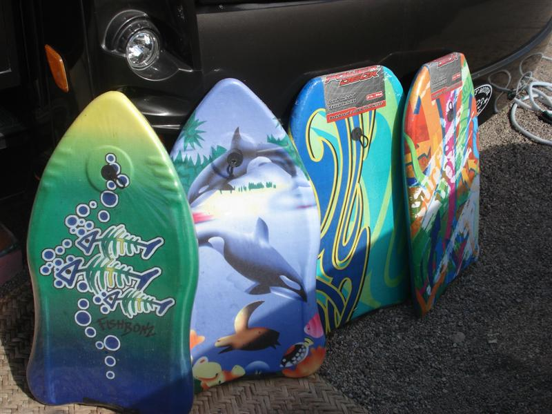 Boogie Boards ready