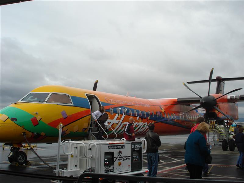 The Plane Scott Fly's