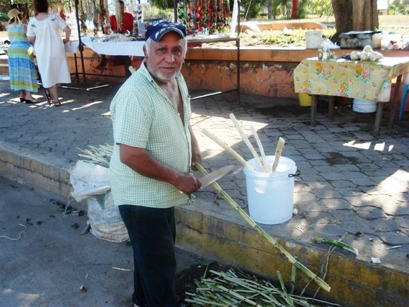 Sugar Cane Vendor