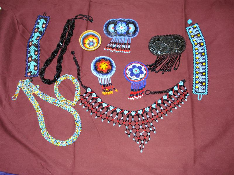 beautiful bead work