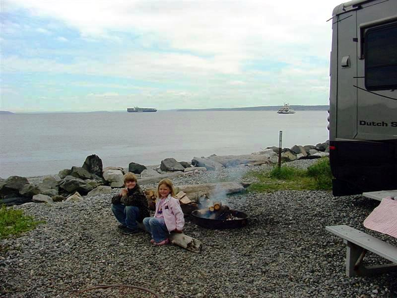 Zak and Ellie at Fort Casey