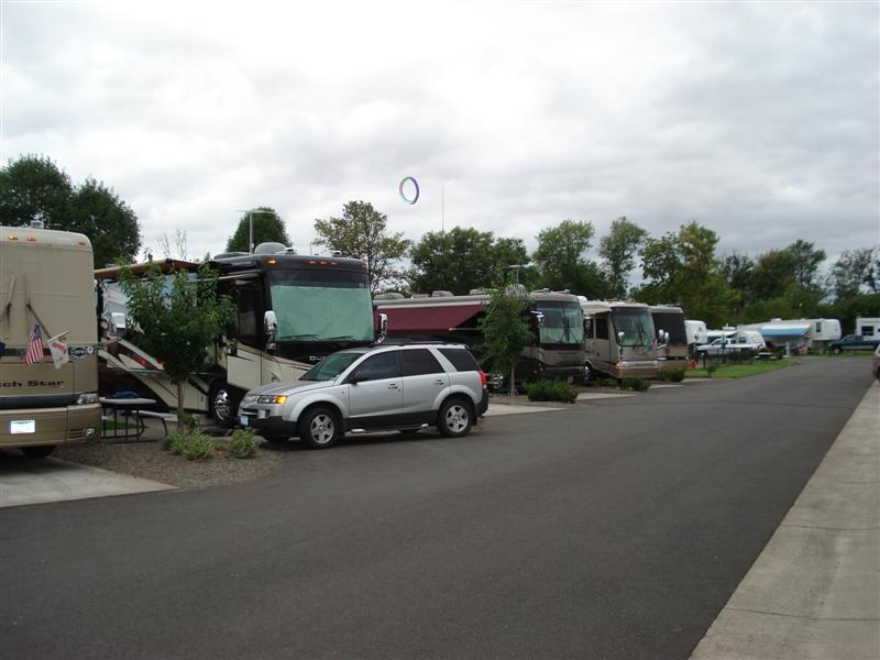Premier RV Park, Salem Oregon