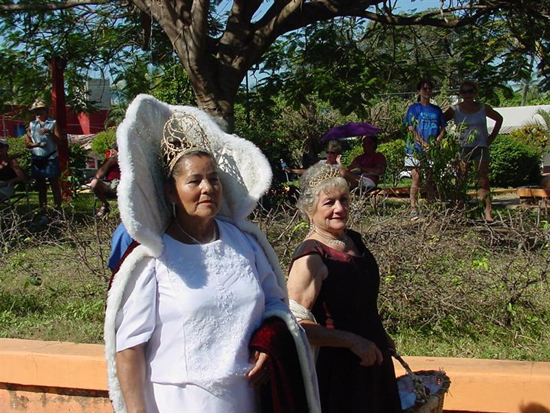 honored queen of Lo de Marcos